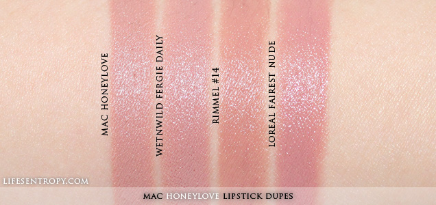 mac honeylove lipstick dupe-#4