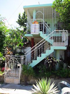Santiago de Cuba Reparto Vista stairs