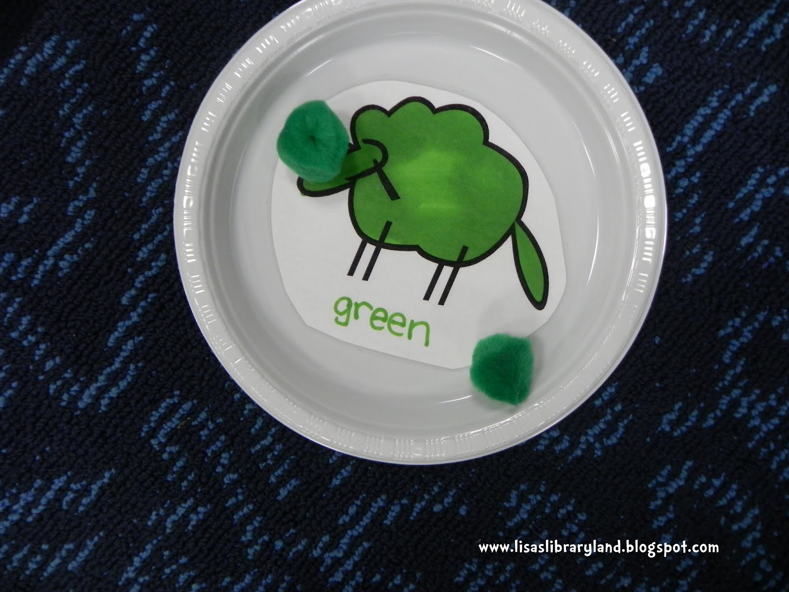 Libraryland: Where is the Green Sheep? Play to Learn