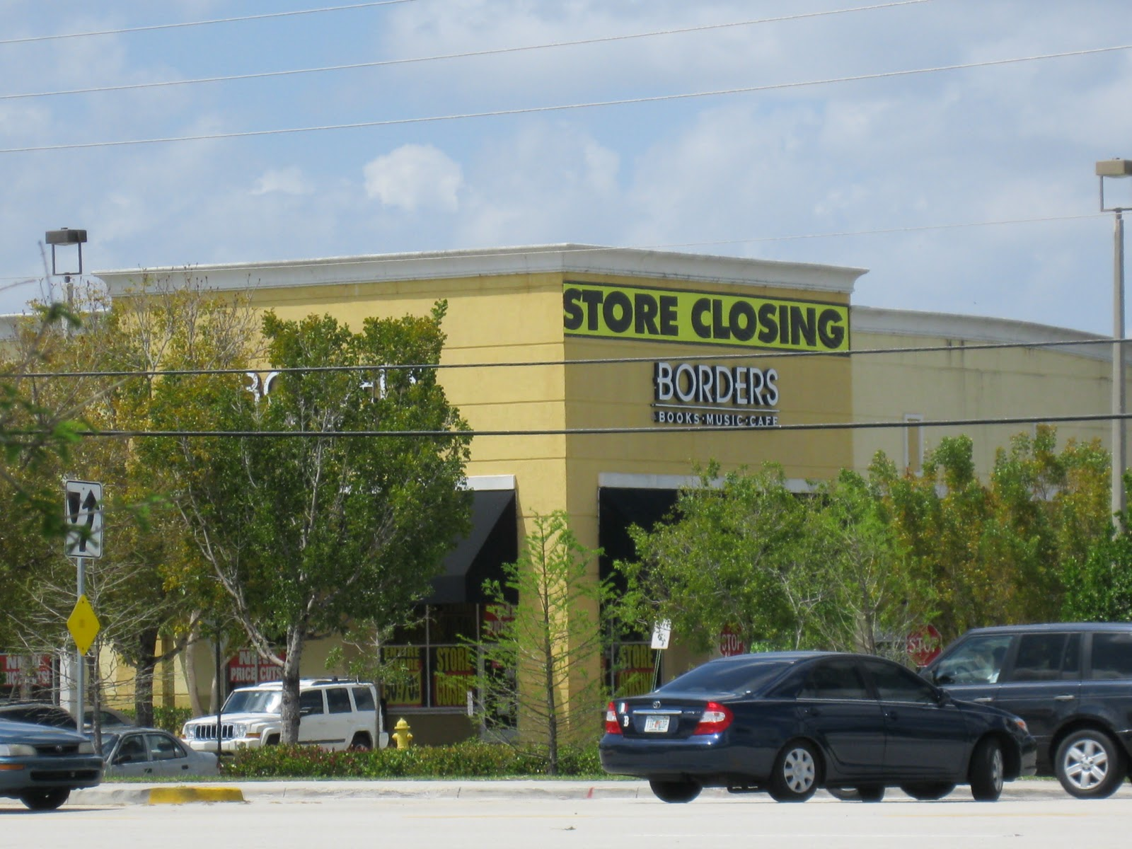 Borders Books Store Closing Sale Borders Store Closing Sunrise