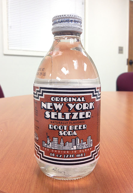 New York Seltzer Root Beer Soda