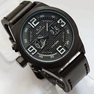 Oakley Chronograph Black White