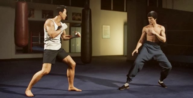 A Warrior's Dream – Combat entre Donnie Yen et Bruce Lee en 3D