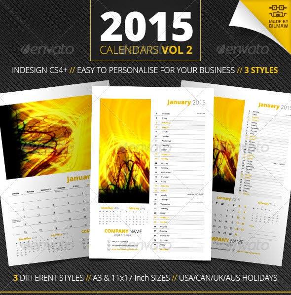 Calendars Vol 2