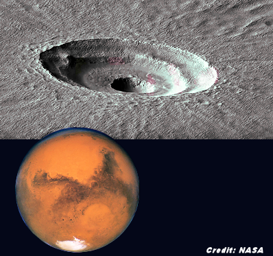Massive Ice sheet Found on Mars