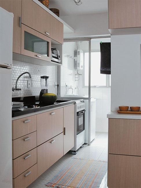 Amando, Casando e Decorando {Decorando} Cozinhas pequenas # Sala E Cozinha Pequena Juntas