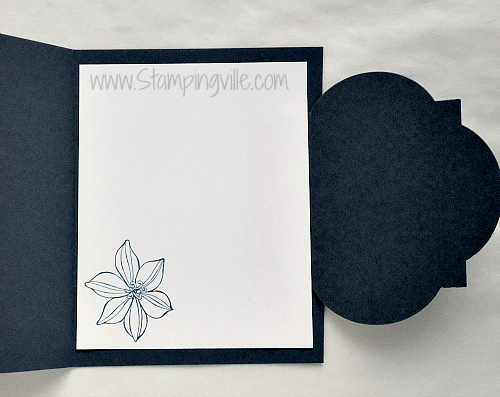 Stampin' Up! Secret Garden Bundle Card Idea