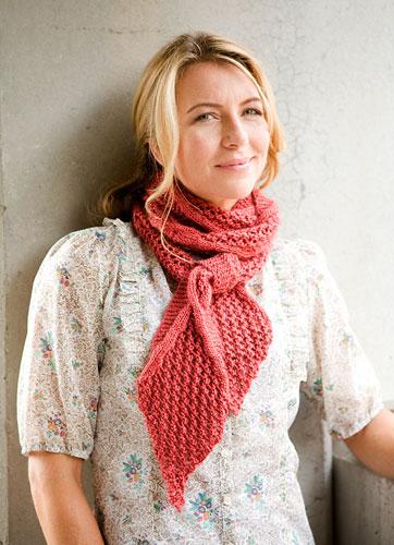 Повязка шарфа на шею