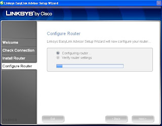 Configure Linksys Router