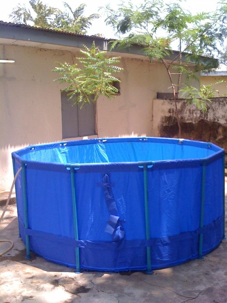 Buy collapsible mobile polygon fish pond at cheap rates for Fish pond tanks for sale