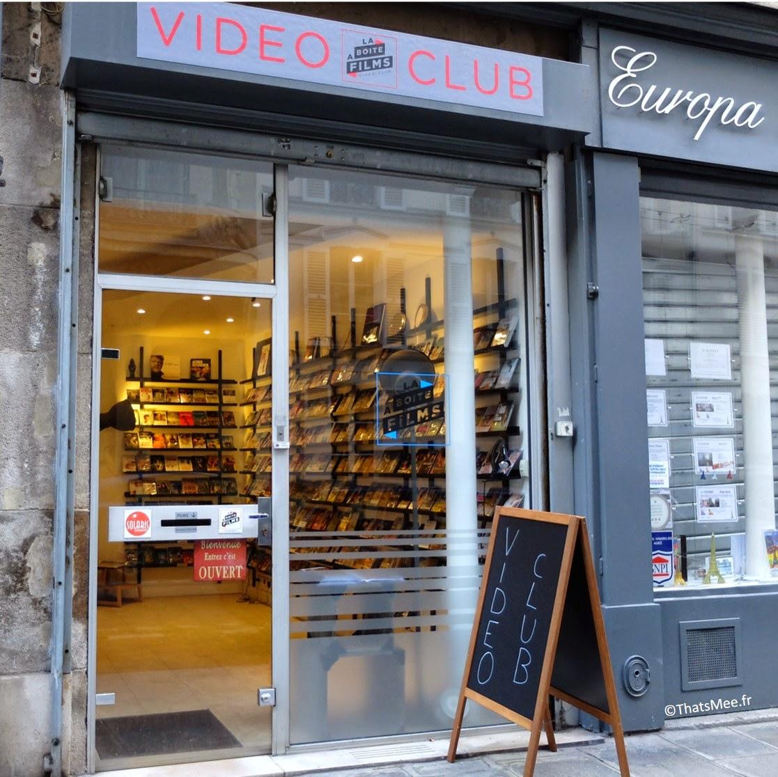 La Boite à Films vidéo club Paris 24 rue du Champ de Mars 75007