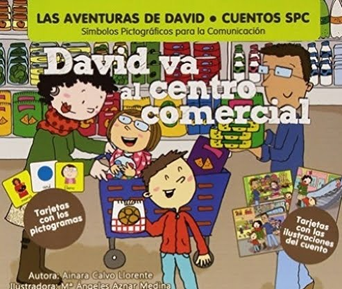 David va al centro comercial