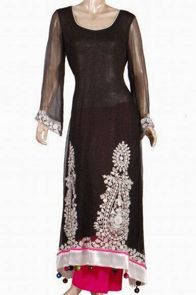 Best fashion designig islamabad embroidery dresses in