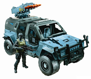 Hasbro GI Joe Retaliation Ninja Combat Cruiser with Driver