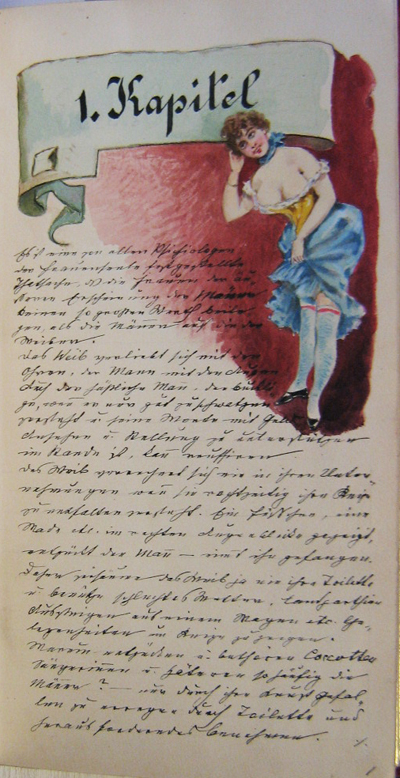 ... (The Book of Venus Vulvigaga) an illustrated erotic manuscript from c.