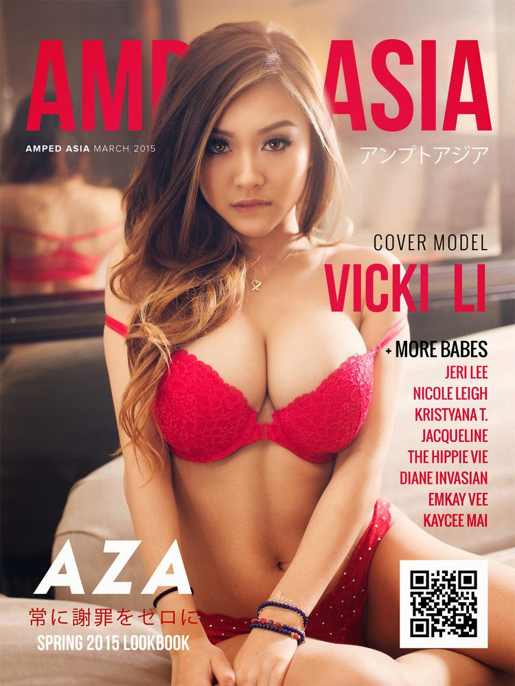 Vicki Li - Amped Asia, March 2015