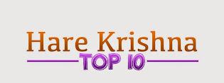 The Hare Krishna Top 10 List!