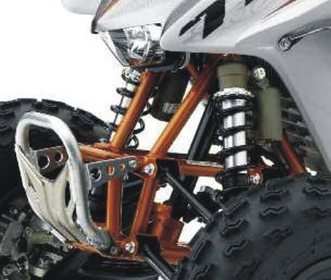 2012 honda TRX450R suspension