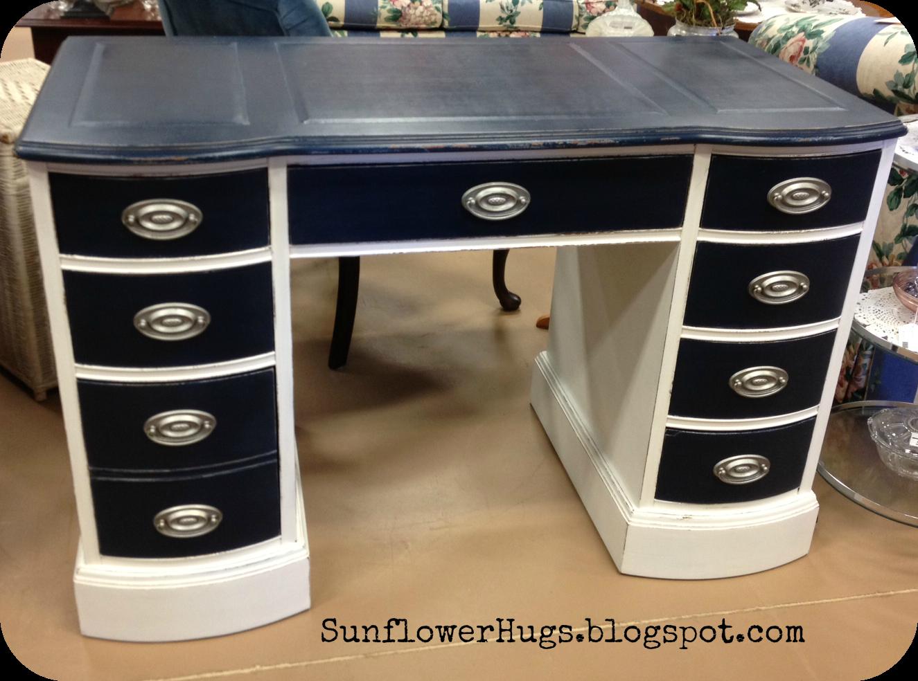 sunflowerhugs nautical desk waxing tip. Black Bedroom Furniture Sets. Home Design Ideas