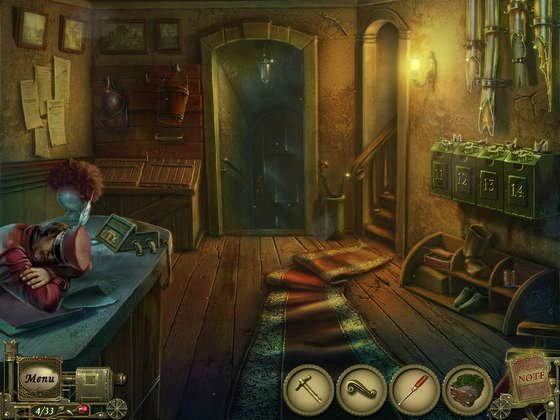 Dark Tales: Edgar Allan Poe's The Premature Burial Collector's Edition screenshot 1