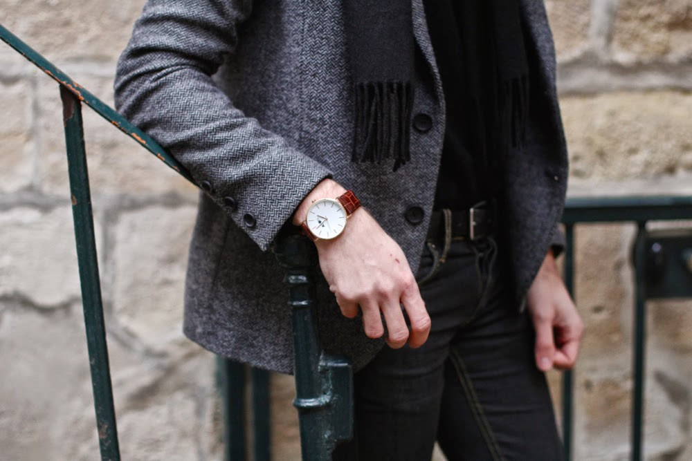 BLOG-MODE-HOMME_AMERICAN-COLLEGE-SNEAKERS_AMERICAN-VINTAGE-JACKET_CHEAP-MONDAY-JEANS_AEON-Watch_UNIQLO-Scarf_PARIS-MENSFASHION