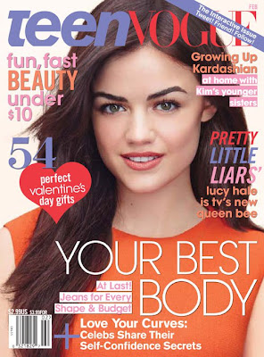 Lucy Hale Teen Vogue Hot Scans