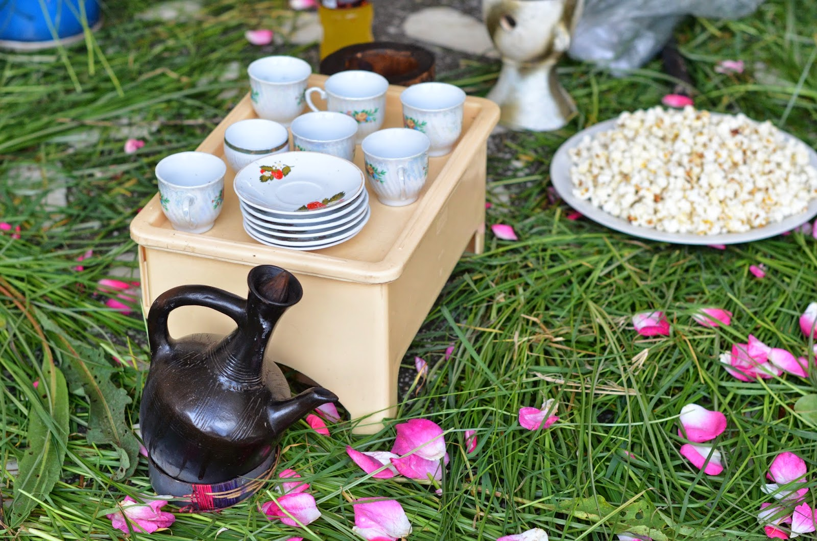 our yuppie life it s strong and always has a thickness to it it s really wonderful and uniquely ethiopian eneye performs the coffee ceremony every evening at her house