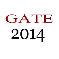 GATE 2014 application form online