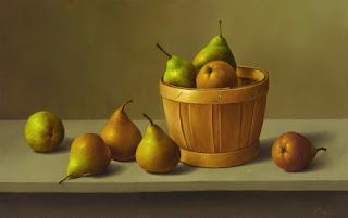 Bodegones Romanticos Frutas Hiperrealismo