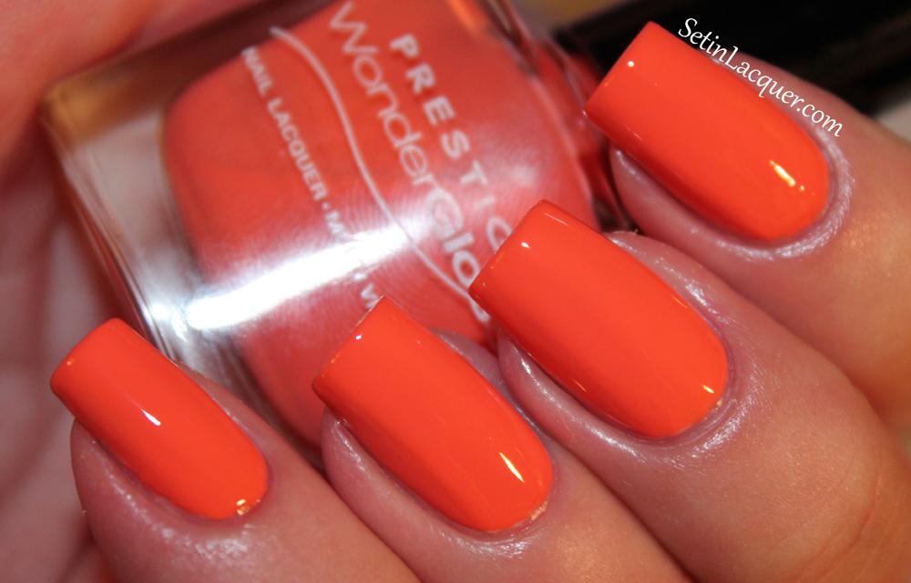 Prestige Cosmetics nail lacquer - Jazzy