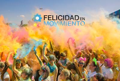 5k Felicidad en movimiento (carrera de colores, parque Roosevelt, 25/oct/2015)
