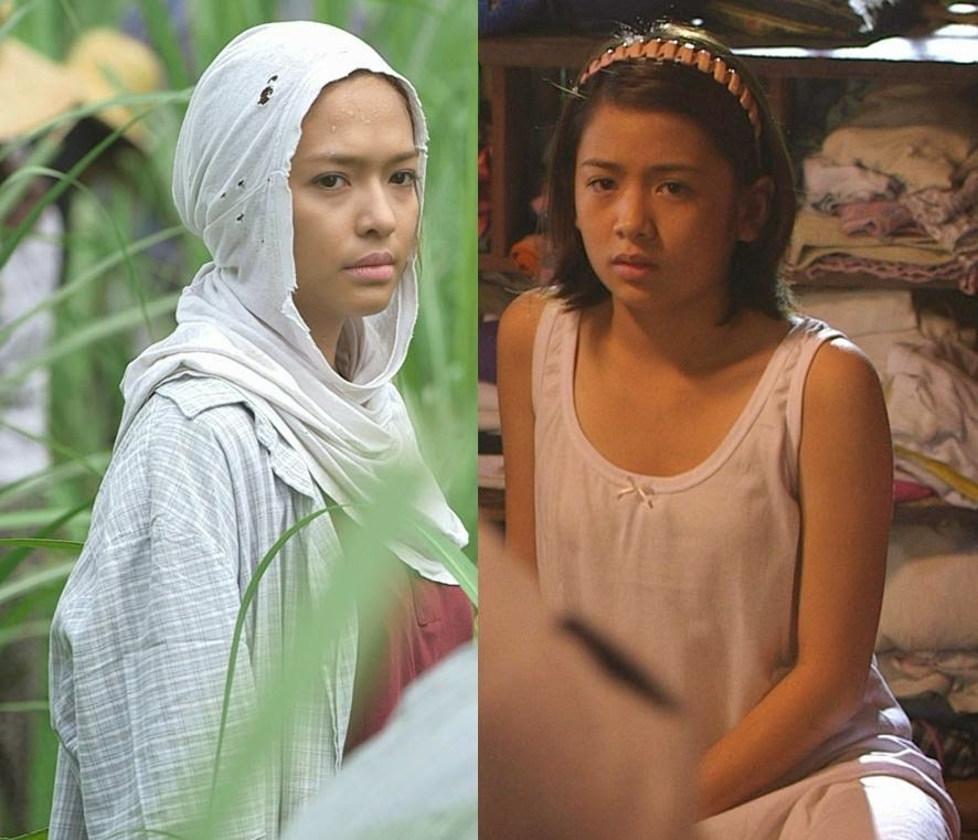 Bangs Garcia and Ella Cruz in MMK