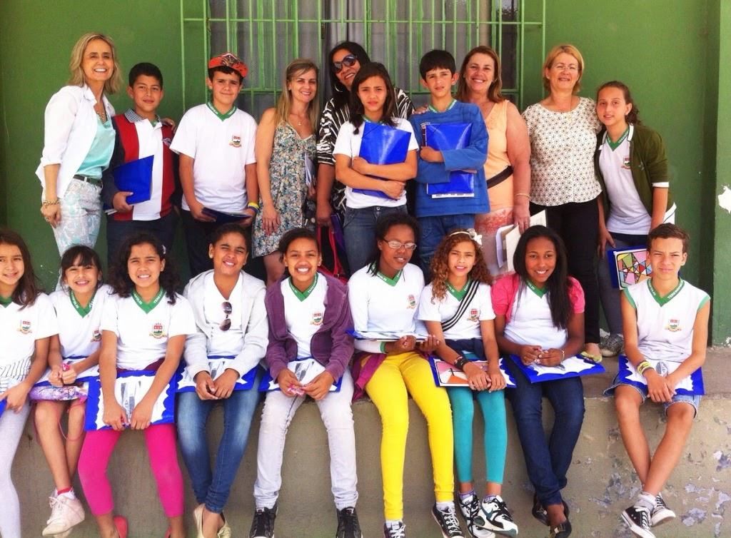 O projeto 'Fazendo o Ninho' visa integrar alunos do 5º com o 6º ano de diferentes escolas
