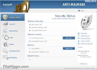 Emsisoft Anti-Malware 8.1.0.4 Free Download