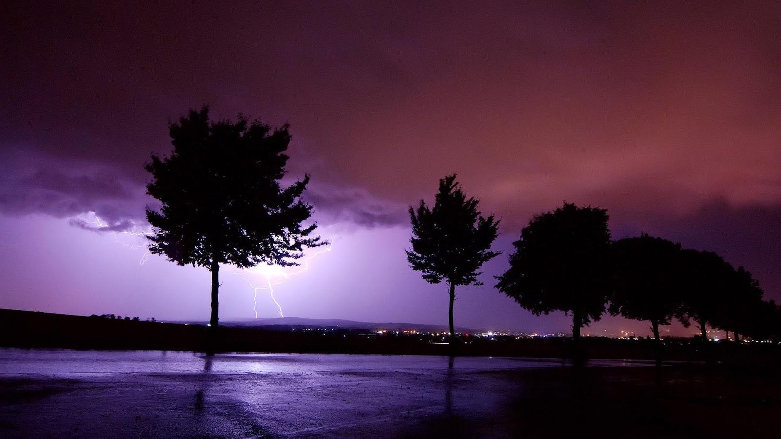 Lightning in Distant