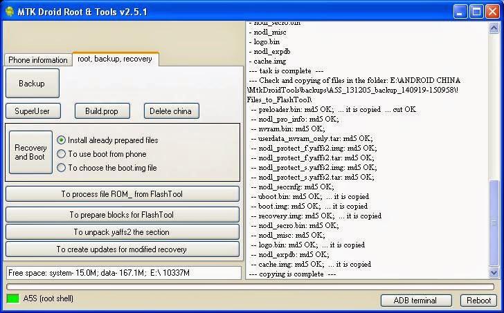 Lihat di folder !Files_to_flashtool. File-file ini siap untuk ...