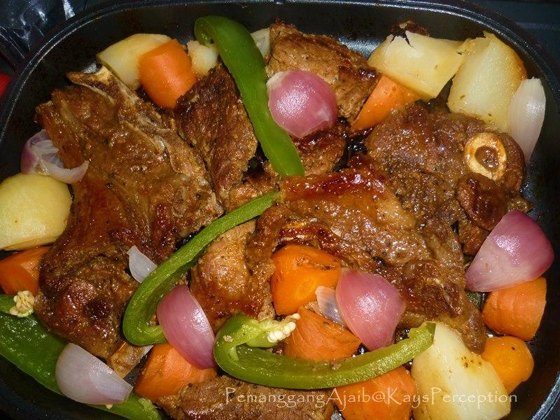 MATHARI: Pemanggang Ajaib dan Resepi Grilled Lamb Chop