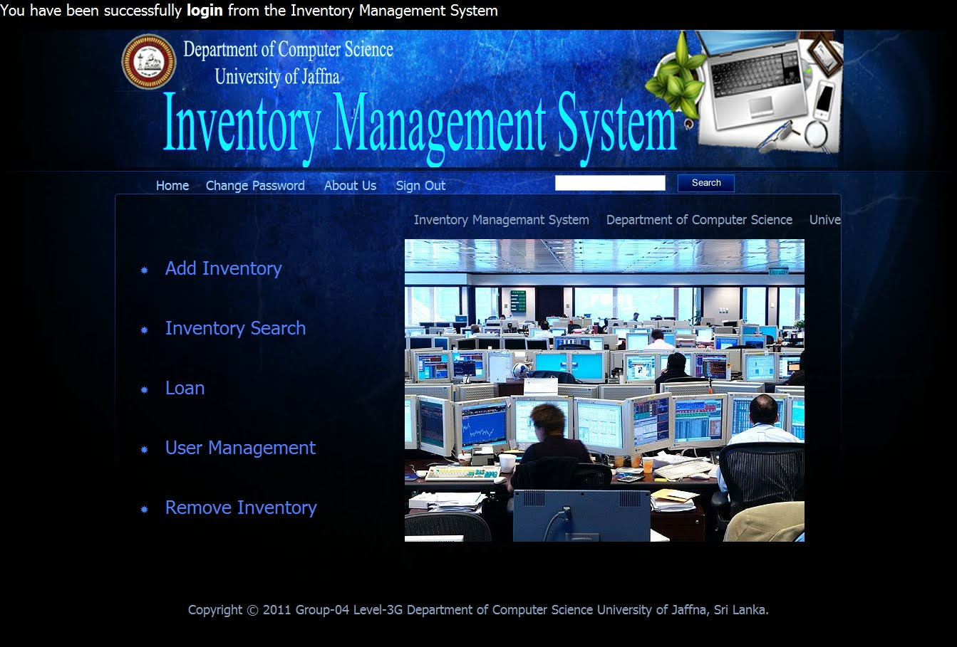 inventory management and control system Inventory management is the ongoing process of an advanced inventory management system for an start improving your company's inventory control today by.