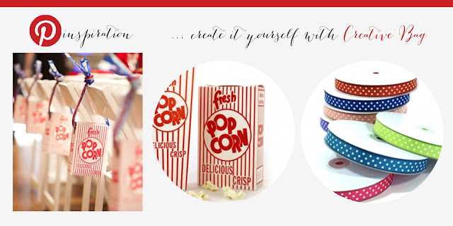 be inspired by Pinterest and recreate it with Creative Bag.com