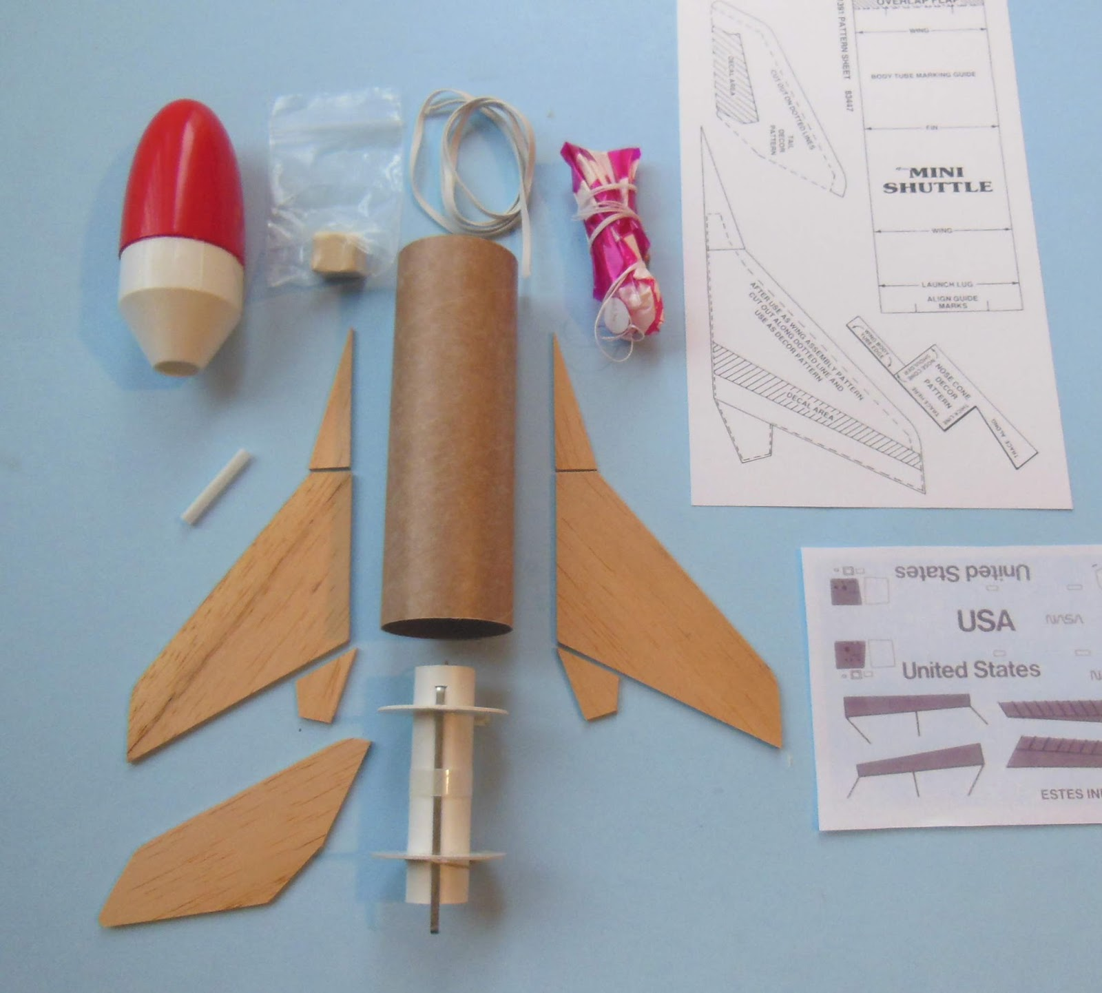 how to make a model rocket fly