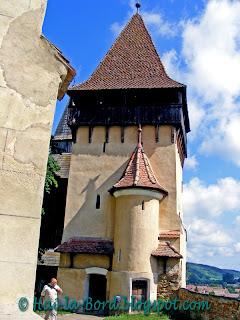 turnul mausoleului biertan