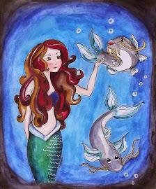 Hermosa Iustración, creada para mi blog, por mi amiga artista Fabi Saavedra: