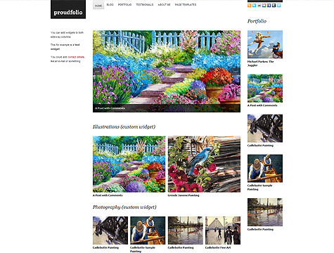 Image for Proudfolio – Premium Theme by WPZoom