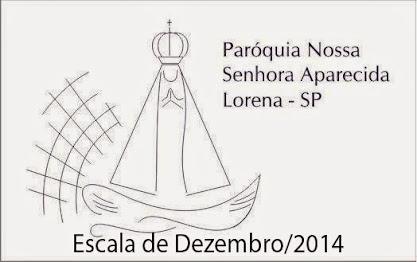ESCALA DE DEZEMBRO DE 2014