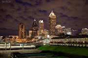 . a great location where you could see a big part of Atlanta's Skyline.