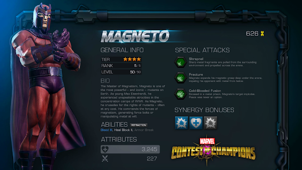 Marvel Contest of Champions: Magneto