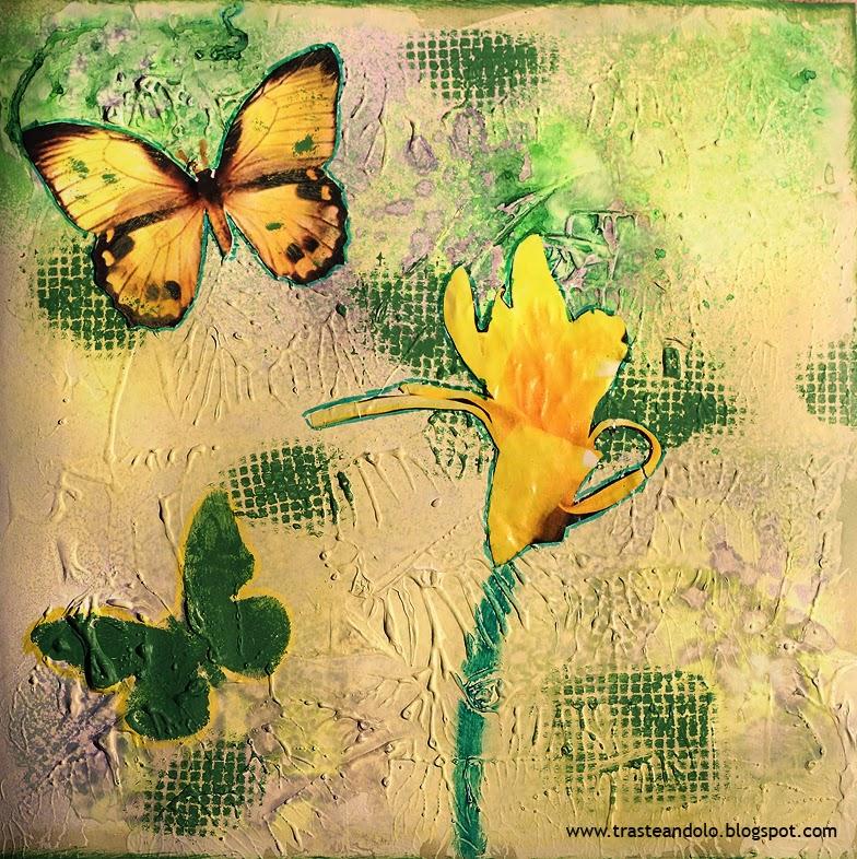 art journal primavera
