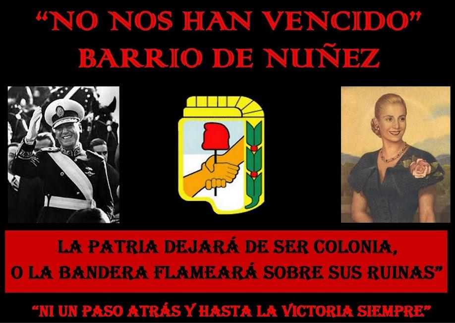 """""""No nos han Vencido"""" PJ Capital barrio de Nuñez circ. 16°"""