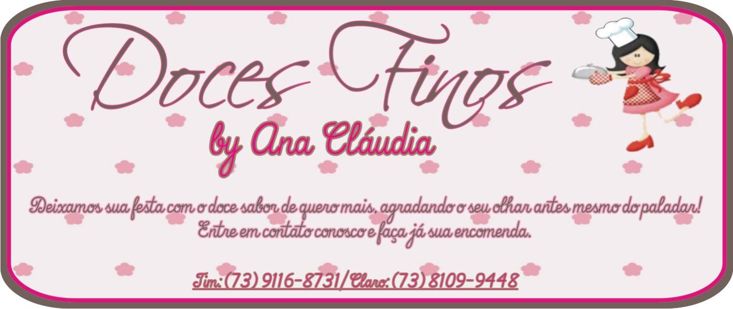 Doces Finos By Ana Cláudia