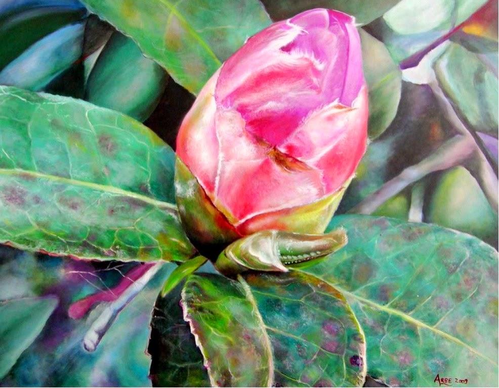 bodegones-con-flores-y-frutas